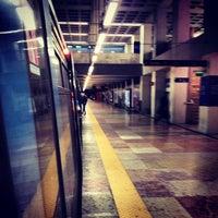 Photo taken at Metro Marquês de Pombal [AM,AZ] by Ricardo F. on 2/18/2013
