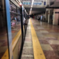 Photo taken at Metro Marquês de Pombal [AM,AZ] by Ricardo F. on 5/16/2013