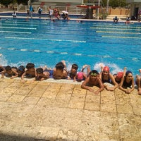 "Photo taken at Complejo de piscinas olímpicas ""Rafael Vidal"" by Neomar I. on 7/30/2014"