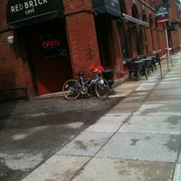 Photo taken at Red Brick Cafe by Jamie B. on 5/1/2011