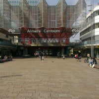 Photo taken at Station Almere Centrum by Alfred T. on 4/29/2012