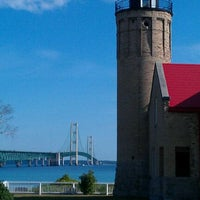 Photo taken at Old Mackinac Point Lighthouse by Chris L. on 8/19/2011