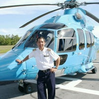 Photo taken at TOTAL SENIPAH HELIPAD by H|A|R|U|N|® on 11/14/2011