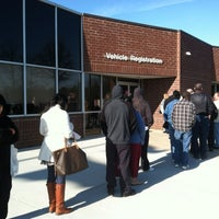 Photo taken at N.C. Department of Motor Vehicles by Devin B. on 1/13/2012