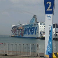 Photo taken at MOBY Piombino by Daniela C. on 7/2/2012