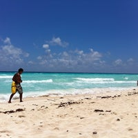 Photo taken at Playa Marlin by Kelly M. on 8/19/2012