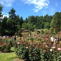 Photo taken at International Rose Test Garden by Jason C. on 6/16/2012