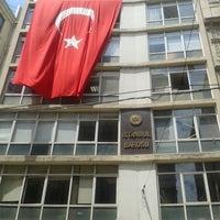 Photo taken at İstanbul Barosu by Ferhat Ö. on 6/5/2013