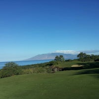 Photo taken at Makena Golf Club by Hansel J. on 11/28/2012