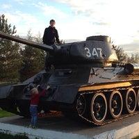 Photo taken at Парк С Танками by Petr P. on 9/6/2014