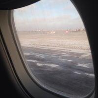 Photo taken at ВПП аэропорта Саратова by Petr P. on 1/18/2018