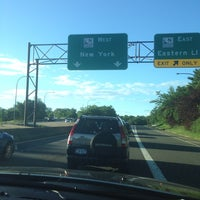 Photo taken at Northern State Parkway by emma t. on 8/4/2013