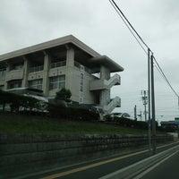 Photo taken at 花巻市立花巻中学校 by ANN on 6/22/2014