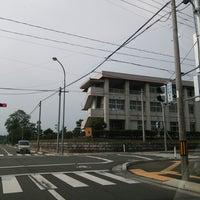 Photo taken at 花巻市立花巻中学校 by ANN on 6/15/2014