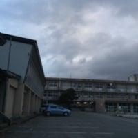 Photo taken at 花巻市立矢沢中学校 by ANN on 1/6/2016