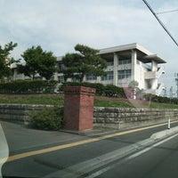 Photo taken at 花巻市立花巻中学校 by ANN on 6/16/2014