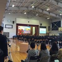 Photo taken at 花巻市立矢沢中学校 by ANN on 10/25/2015