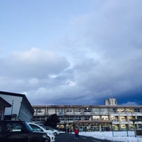 Photo taken at 花巻市立矢沢中学校 by ANN on 1/22/2016