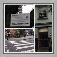 Photo taken at Abbey Road Studios by Ashley B. on 9/25/2013