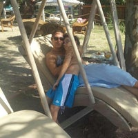 Photo taken at ONEIRO BEACH RESORT by izlem A. on 8/22/2014