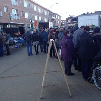 Photo taken at Zondagmarkt by Johan J. on 2/2/2014
