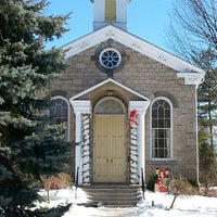 Photo taken at Ancaster Old Town Hall by Leslie E. on 2/23/2014
