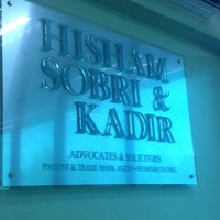 Photo taken at Hisham Sobri & Kadir by Saiful H. on 3/12/2014