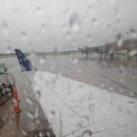 Photo taken at Capital Region International Airport (LAN) by Jon H. on 6/25/2013