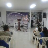 Photo taken at Iglesia Apostolica De Gloria en Gloria by Pastora Alexandra V. on 9/28/2013