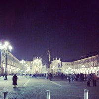 Photo taken at Piazza San Carlo by Alessandro N. on 11/24/2012