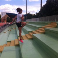 Photo taken at Centre Sportif Poissonniers by Lucie C. on 8/3/2014
