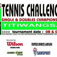 Photo taken at Gelanggang Tennis Tasik Titiwangsa by Haini Eszuandi H. on 2/9/2014