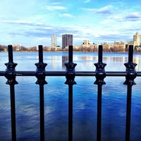 Photo taken at Jacqueline Kennedy Onassis Reservoir by Alex on 3/9/2013