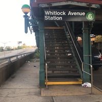 Photo taken at MTA Subway - Whitlock Ave (6) by Alex on 7/2/2017