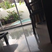 Photo taken at The Living Pool Villas by Ekaterina L. on 3/15/2014