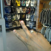 Photo taken at Havaianas by D R. on 5/17/2014