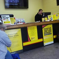Photo taken at Meineke Car Care Center by Jessica a. on 12/13/2013