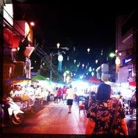 Photo taken at Chiang Rai Walking Street by K P. on 12/1/2012