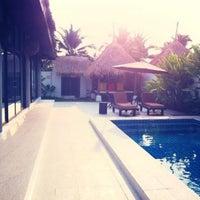 Photo taken at Dhevan Dara Resort & Spa by Ta B. on 3/10/2013