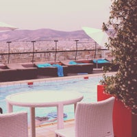 Photo taken at Novotel Hotel Athens by Артём Г. on 5/29/2013