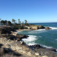 Photo taken at La Jolla Cove by Nick S. on 12/27/2012