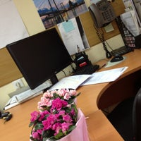 "Photo taken at Администрация Города Красноярска МБУ ""Центр недвижимости"" by Розана on 5/13/2013"