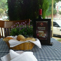 Photo taken at Gino's Ristorante & Pasticceria by Lisa A. on 5/24/2013