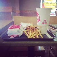 Photo taken at Wendy's by Mike M. on 4/6/2014