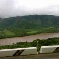 Photo taken at Río Huallaga by Fiorela J. on 4/7/2014