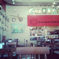 Photo taken at Backpackers cafe, Elante by @Mapfarer A. on 3/30/2014