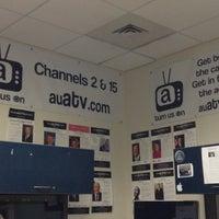 Photo taken at AU –American Television (ATV) by Douglas B. on 1/14/2013