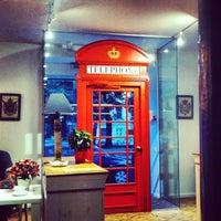 Снимок сделан в Кофейный дом LONDON пользователем Sergey S. 7/21/2013