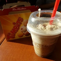 Photo taken at Tim Hortons by eliza a. on 8/24/2016