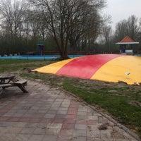 Photo taken at Zwembad It Paradyske by EJ S. on 3/31/2014